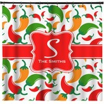 Colored Peppers Shower Curtain (Personalized)