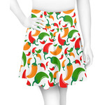 Colored Peppers Skater Skirt (Personalized)