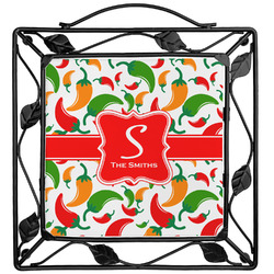 Colored Peppers Trivet (Personalized)