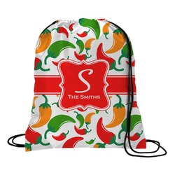 Colored Peppers Drawstring Backpack (Personalized)