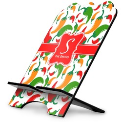 Colored Peppers Stylized Tablet Stand (Personalized)