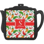 Colored Peppers Teapot Trivet (Personalized)