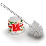 Colored Peppers Toilet Brush (Personalized)