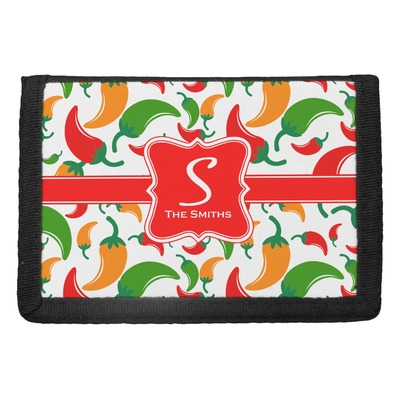 Colored Peppers Trifold Wallet (Personalized)
