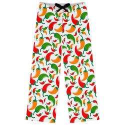 Colored Peppers Womens Pajama Pants (Personalized)