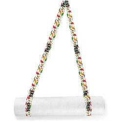 Colored Peppers Yoga Mat Strap (Personalized)