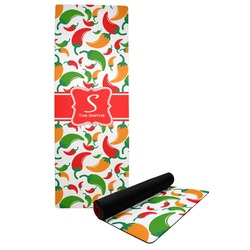 Colored Peppers Yoga Mat (Personalized)