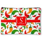 Colored Peppers Zipper Pouch (Personalized)