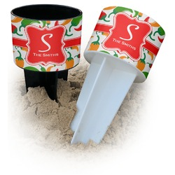 Colored Peppers Beach Spiker Drink Holder (Personalized)