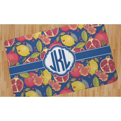 Pomegranates & Lemons Area Rug (Personalized)