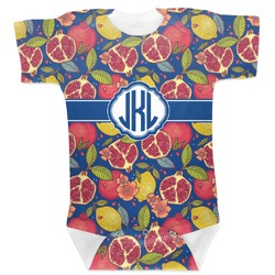 Pomegranates & Lemons Baby Bodysuit (Personalized)