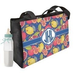 Pomegranates & Lemons Diaper Bag (Personalized)