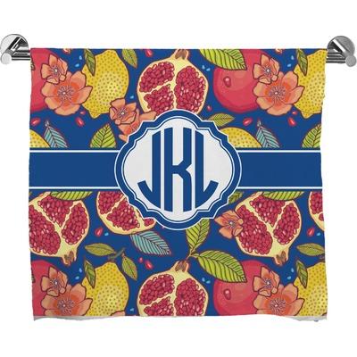 Pomegranates & Lemons Bath Towel (Personalized)