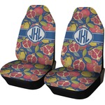 Pomegranates & Lemons Car Seat Covers (Set of Two) (Personalized)