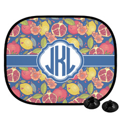 Pomegranates & Lemons Car Side Window Sun Shade (Personalized)