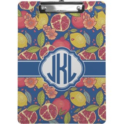 Pomegranates & Lemons Clipboard (Personalized)