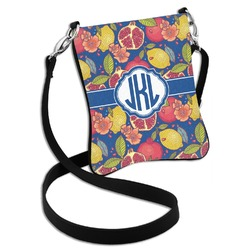 Pomegranates & Lemons Cross Body Bag - 2 Sizes (Personalized)