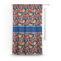 Pomegranates & Lemons Curtain (Personalized)