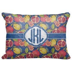 "Pomegranates & Lemons Decorative Baby Pillowcase - 16""x12"" (Personalized)"