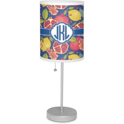 "Pomegranates & Lemons 7"" Drum Lamp with Shade (Personalized)"
