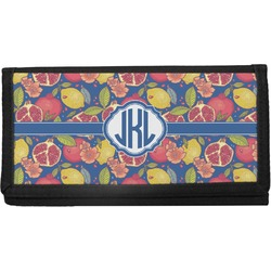 Pomegranates & Lemons Canvas Checkbook Cover (Personalized)