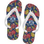 Pomegranates & Lemons Flip Flops (Personalized)