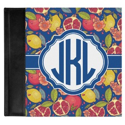 Pomegranates & Lemons Genuine Leather Baby Memory Book (Personalized)