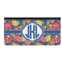 Pomegranates & Lemons Genuine Leather Checkbook Cover (Personalized)