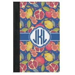 Pomegranates & Lemons Genuine Leather Passport Cover (Personalized)