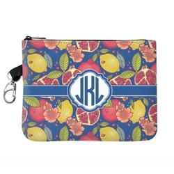 Pomegranates & Lemons Zip ID Case (Personalized)