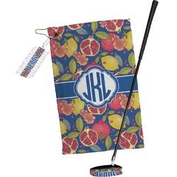 Pomegranates & Lemons Golf Towel Gift Set (Personalized)