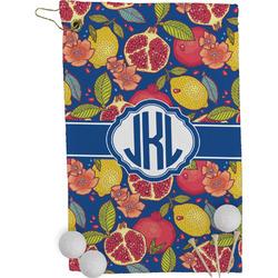 Pomegranates & Lemons Golf Towel - Full Print (Personalized)