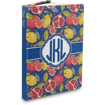 Pomegranates & Lemons Hardbound Journal (Personalized)