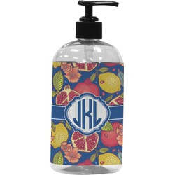 Pomegranates & Lemons Plastic Soap / Lotion Dispenser (Personalized)