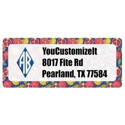 Pomegranates & Lemons Return Address Labels (Personalized)