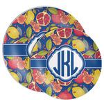 Pomegranates & Lemons Melamine Plate (Personalized)