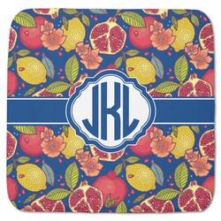 "Pomegranates & Lemons Memory Foam Bath Mat - 48""x48"" (Personalized)"