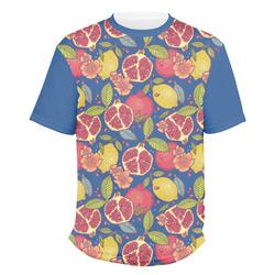 Pomegranates & Lemons Men's Crew T-Shirt (Personalized)