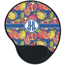 Pomegranates & Lemons Mouse Pad with Wrist Support