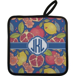 Pomegranates & Lemons Pot Holder (Personalized)