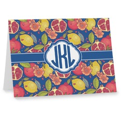 Pomegranates & Lemons Note cards (Personalized)