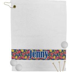 Pomegranates & Lemons Golf Towel (Personalized)