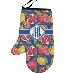 Pomegranates & Lemons Left Oven Mitt (Personalized)