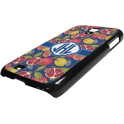 Pomegranates & Lemons Plastic Samsung Galaxy 4 Phone Case (Personalized)