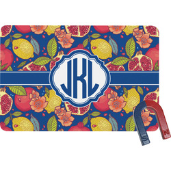 Pomegranates & Lemons Rectangular Fridge Magnet (Personalized)