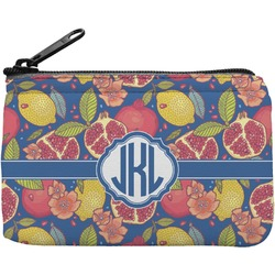 Pomegranates & Lemons Rectangular Coin Purse (Personalized)