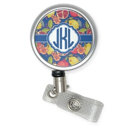 Pomegranates & Lemons Retractable Badge Reel (Personalized)