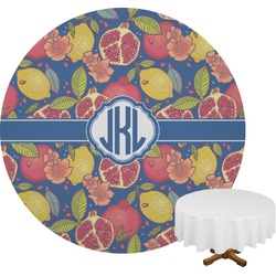 Pomegranates & Lemons Round Tablecloth (Personalized)