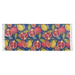 Pomegranates & Lemons Faux Pashmina Scarf (Personalized)