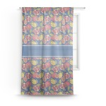 Pomegranates & Lemons Sheer Curtains (Personalized)